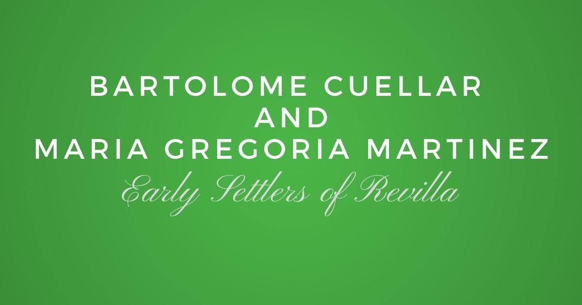 Bartolome de Lizarraras y Cuellar and Maria Gregoria Martinez