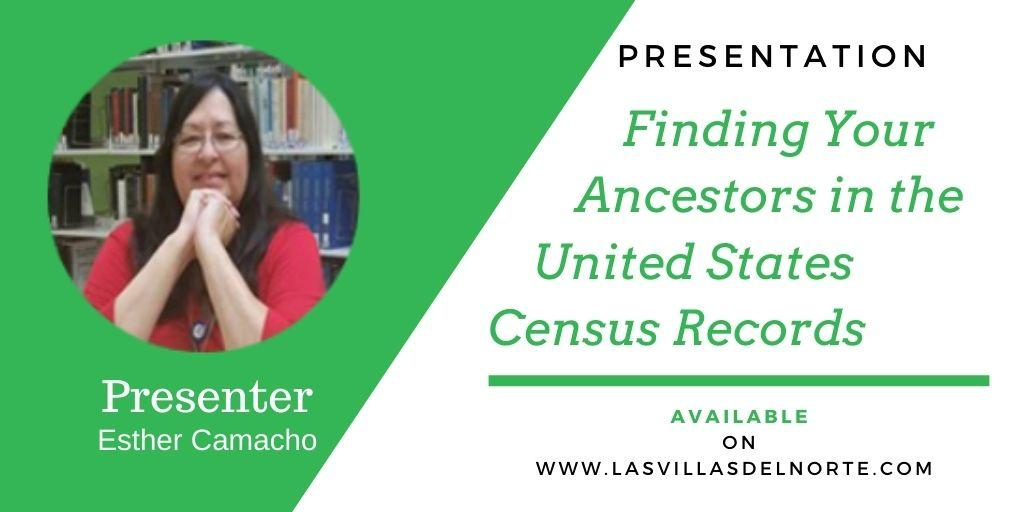 Finding Your Ancestors in the United States Census Records