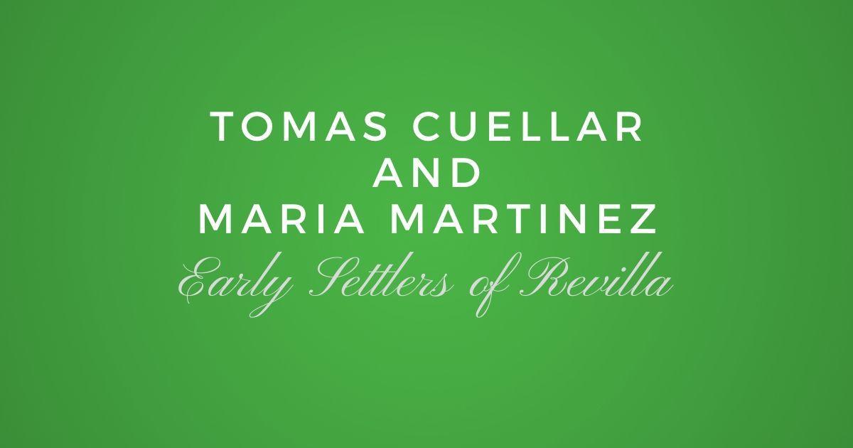 Tomas Cuellar and Maria Martinez