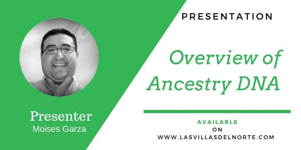 Overview of Ancestry DNA
