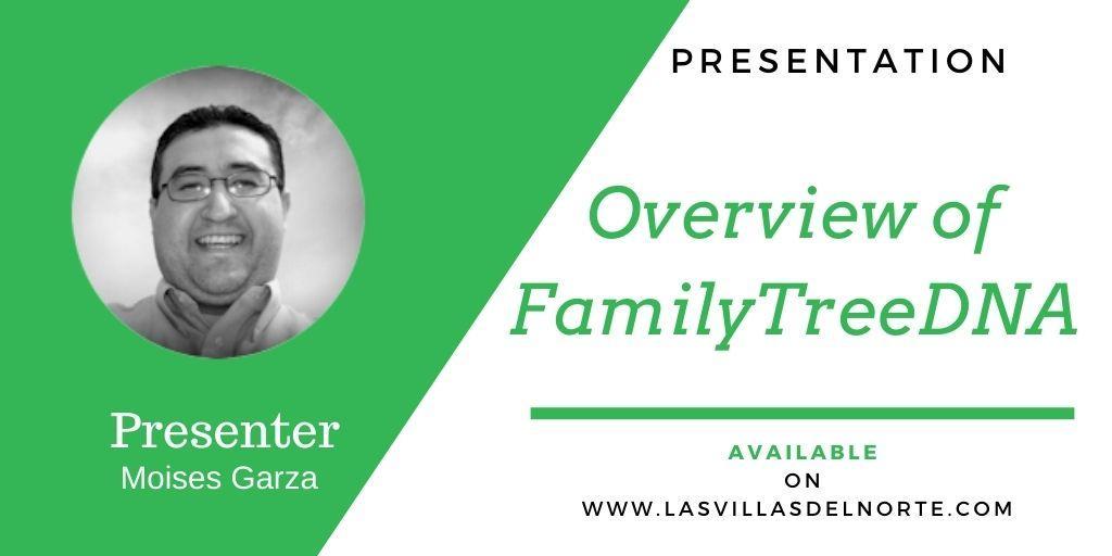 Overview of FamilyTreeDNA