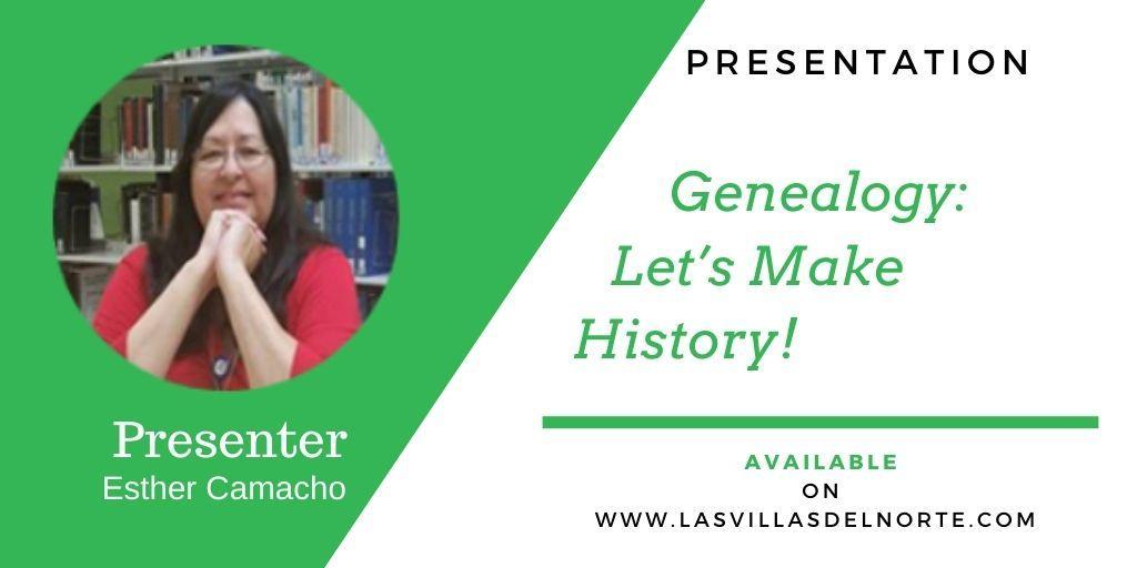 Genealogy: Let's Make History!