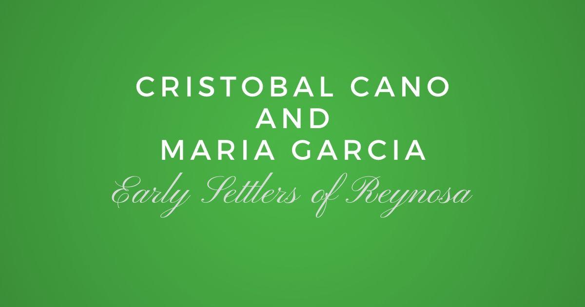Cristobal Cano and Maria Garcia