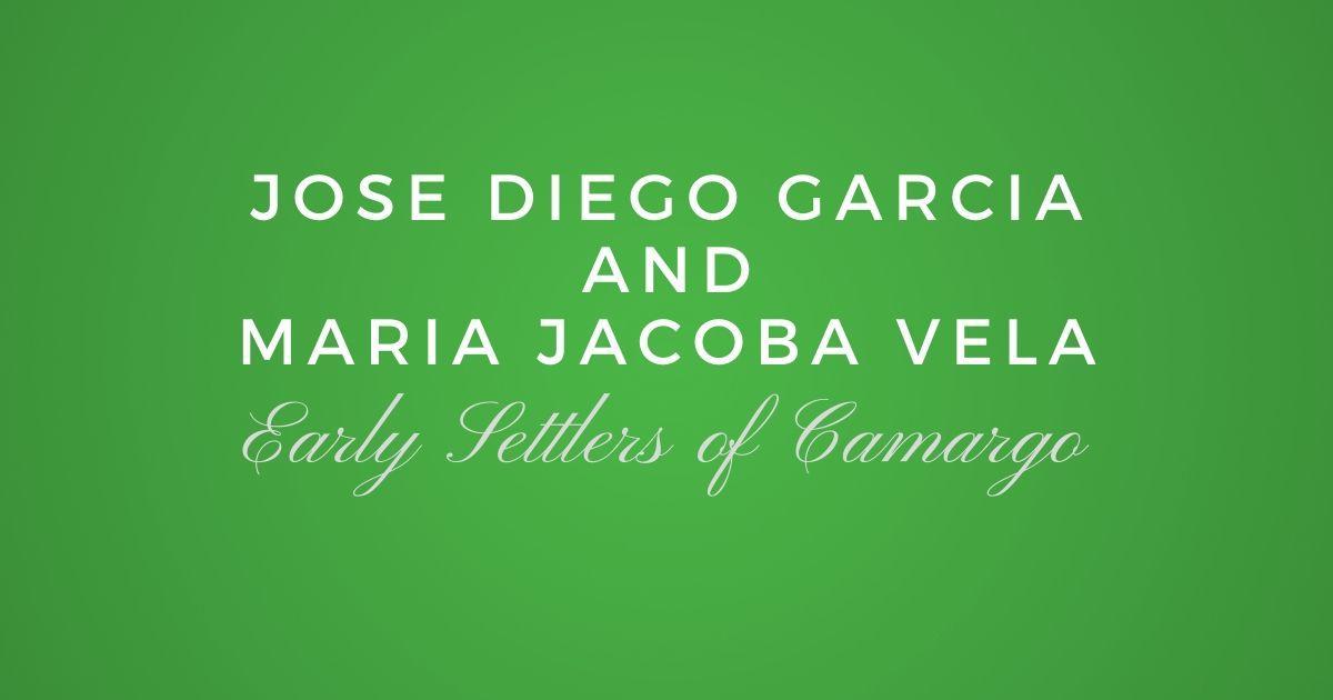 Jose Diego Garcia And Maria Jacoba Vela