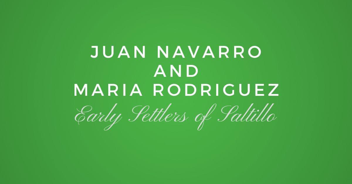 Juan Navarro and Maria Rodriguez