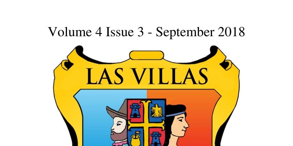 Las Villas del Norte Newsletter Volume 4 Issue 3 – September 2018