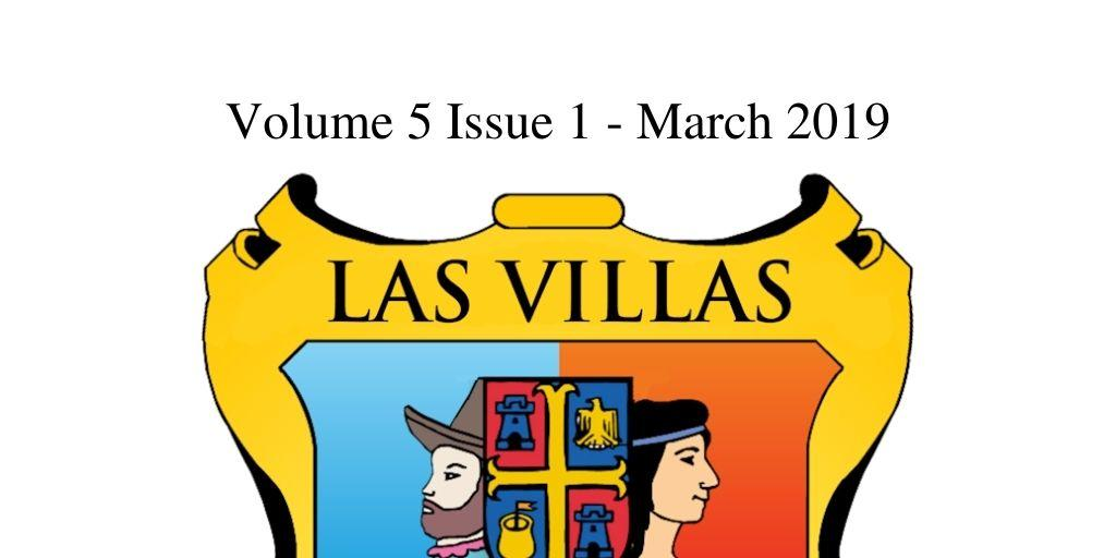 Las Villas del Norte Newsletter Volume 5 Issue 1 – March 2019