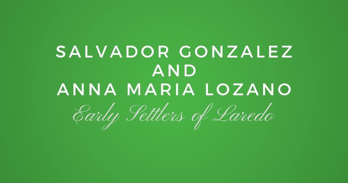 Salvador Gonzalez and Anna Maria Lozano