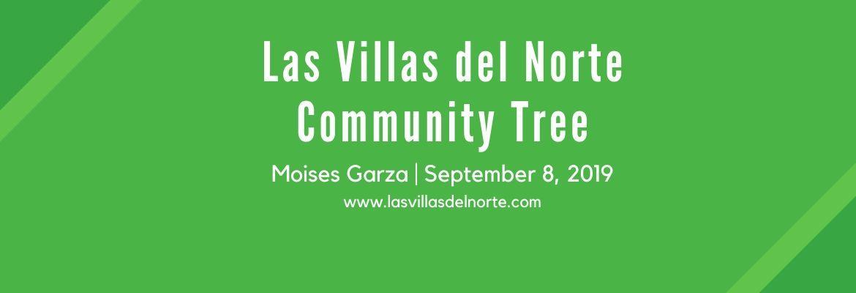 Las Villas del Norte Community Tree