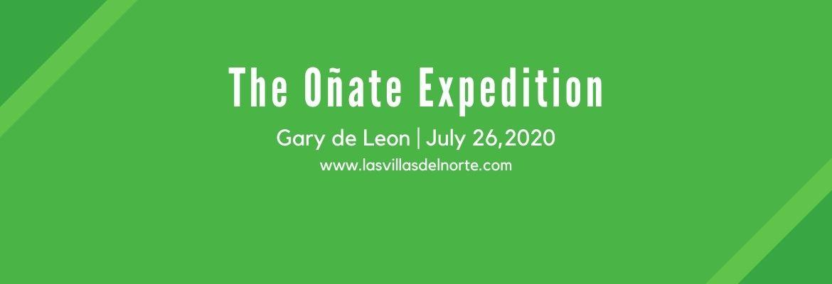 The Oñate Expedition - Gary de Leon