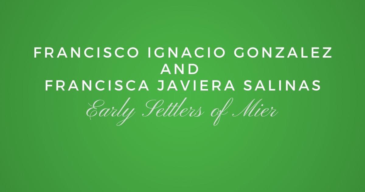Francisco Ignacio Gonzalez and Francisca Javiera Salinas