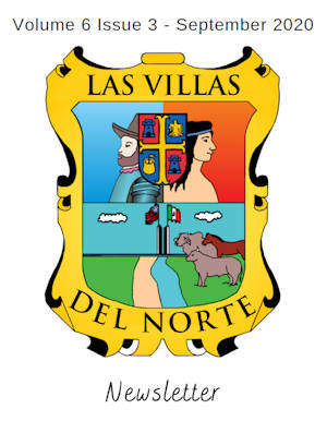 Las Villas del Norte Newsletter Volume 6 Issue 3– September 2020