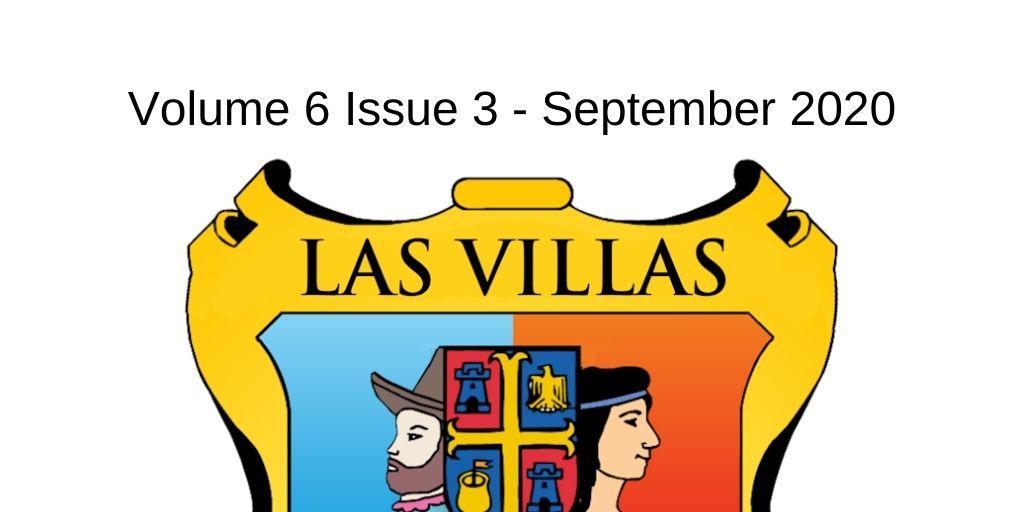 Las Villas del Norte Newsletter Volume 6 Issue 3 – September 2020
