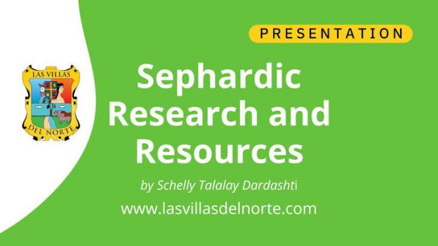 Sephardic Research and Resources