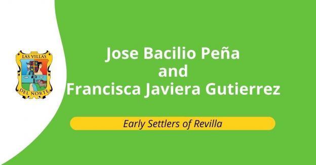 Jose Bacilio Peña and Francisca Javiera Gutierrez