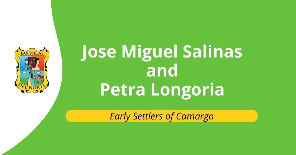 Jose Miguel Salinas and Petra Longoria