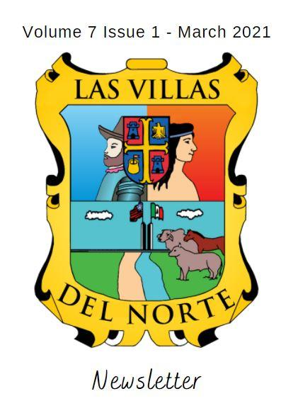 Las Villas del Norte Newsletter Volume 7 Issue 1 - March 2021