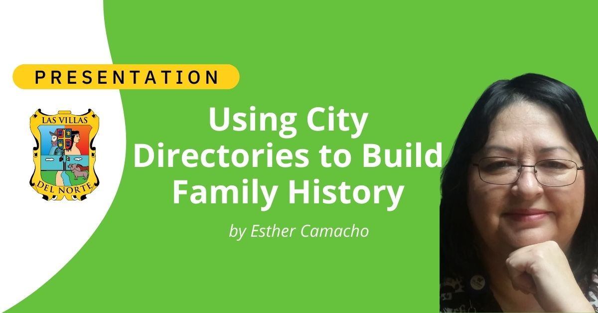 Using City Directories to Build Family History